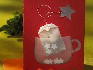 Kreativ pfad basteltipp weihnachtskarten - Weihnachtskarten kreativ ...