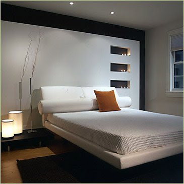 Modern Furniture: Modern bedroom decorating ideas 2011
