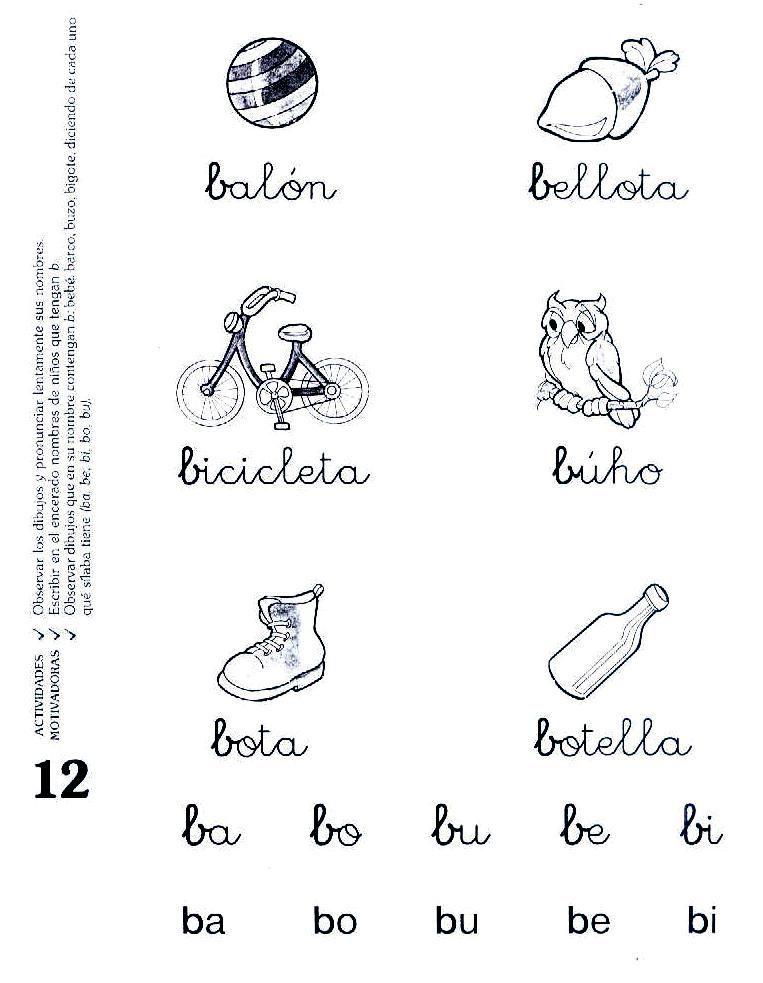 download this Con Cursiva Imprenta Secuencia Actividades Para picture