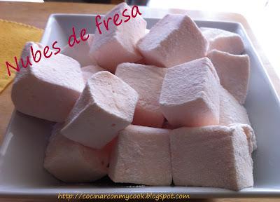 Cocinar con mycook nubes de fresa for Cocinar con 20 soles