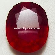 Batu permata Ruby Pigeon Blood -  Kode 19L02