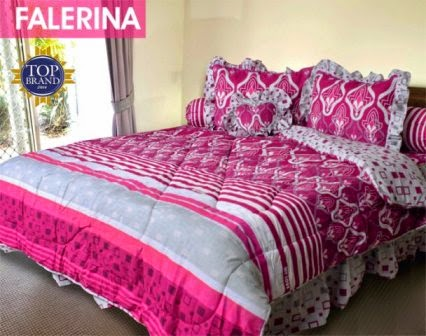 Jual Sprei Bed Cover My Love Falerina