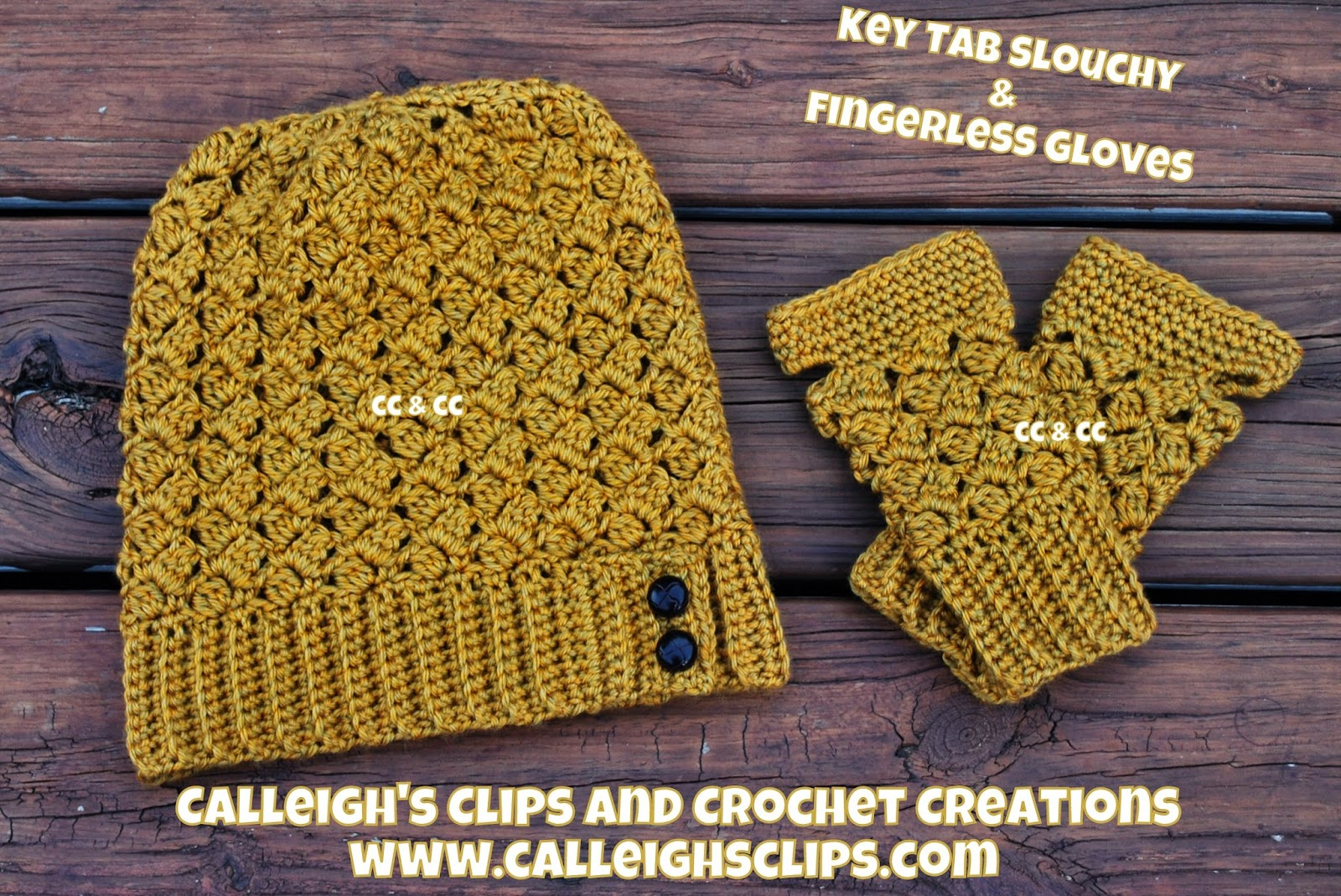 Calleigh\'s Clips & Crochet Creations: Free Crochet Pattern - Key Tab ...