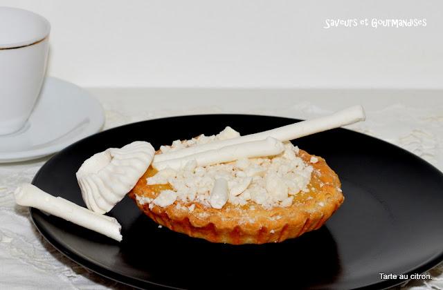 Tartelettes express au Citron et Meringues.