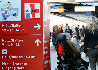 Exhibits at MEDICA 2013