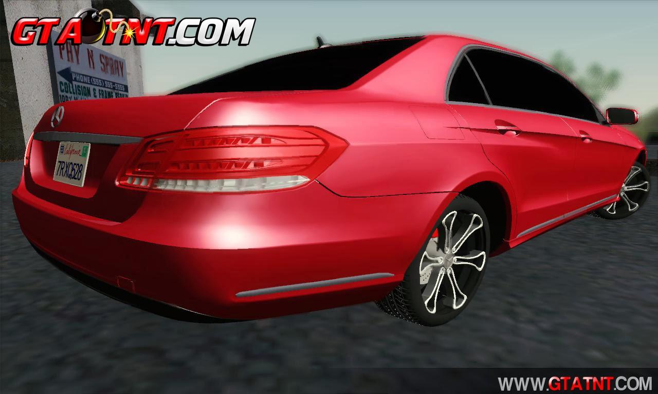 Baixar O Carro GTA SA - Mercedes-Benz W212 AMG - MODS GTA