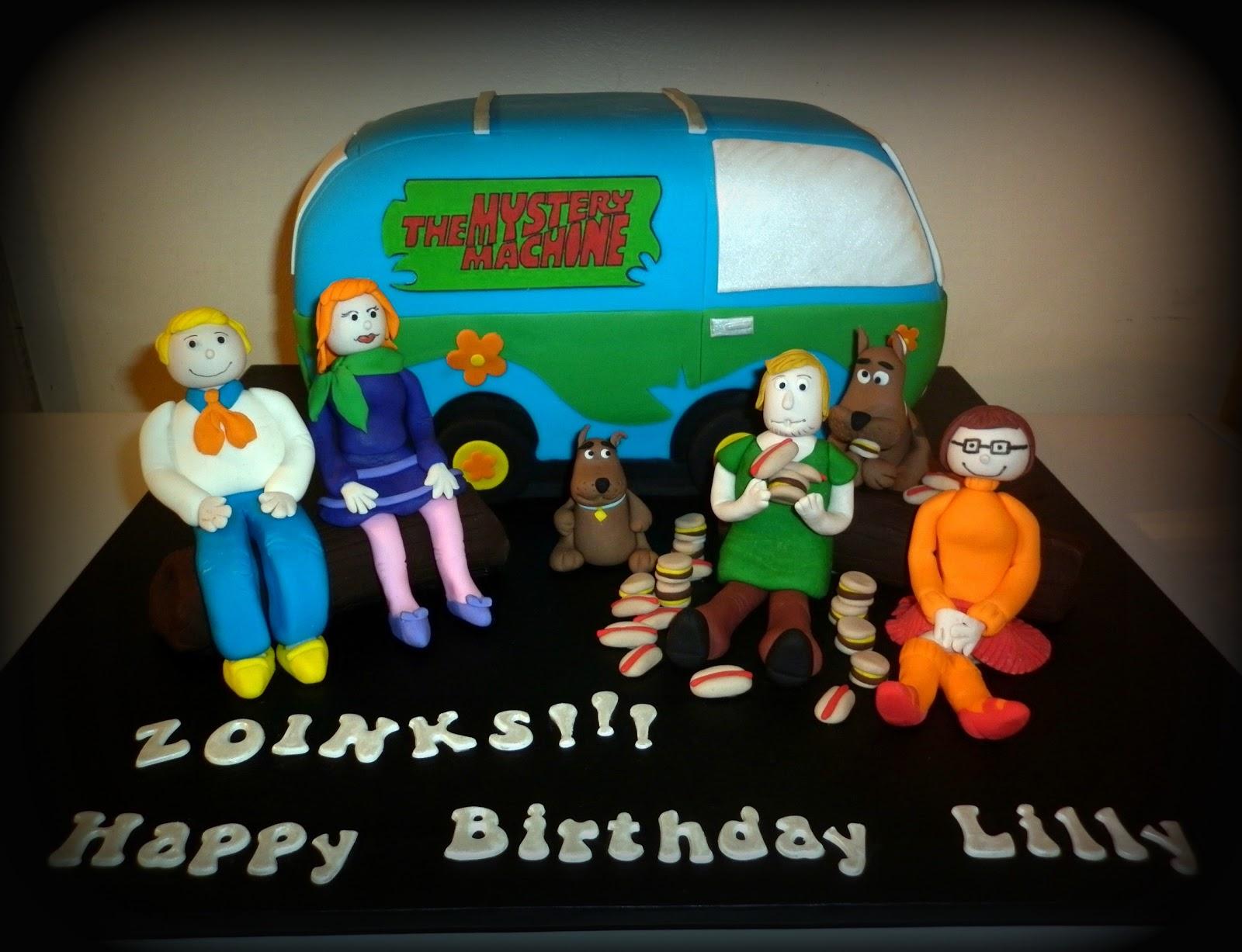 How To Make A Scooby Doo Van Cake