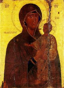 Εικόνα Παναγίας Σεντνάγια (14 αι. μ.Χ.). Φρέναρος, Κύπρος