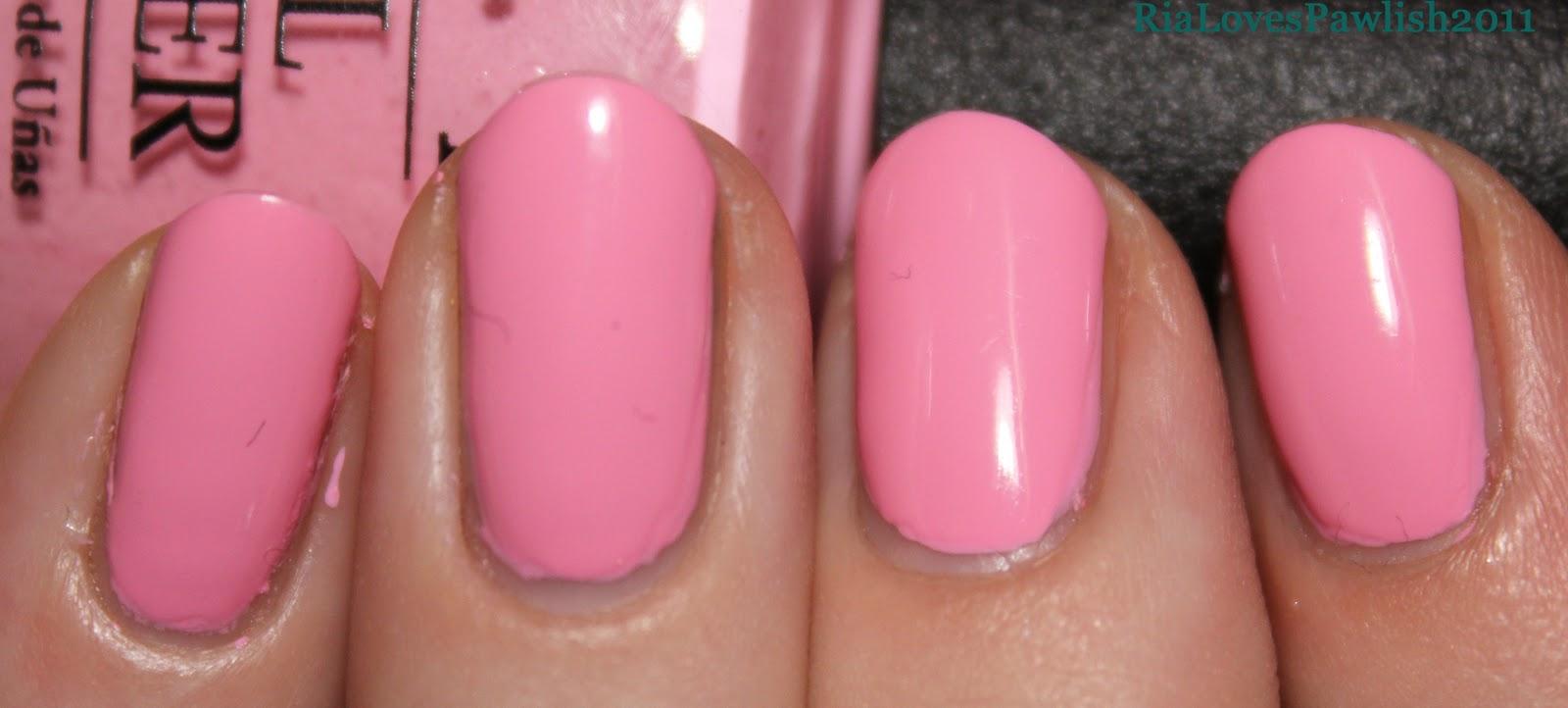 Ria Loves Pawlish: OPI Nicki Minaj Pink Friday under OPI Super Bass ...