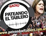Escuchá PATEANDO EL TABLERO. Sábados de 11 a 13. FM 90.1