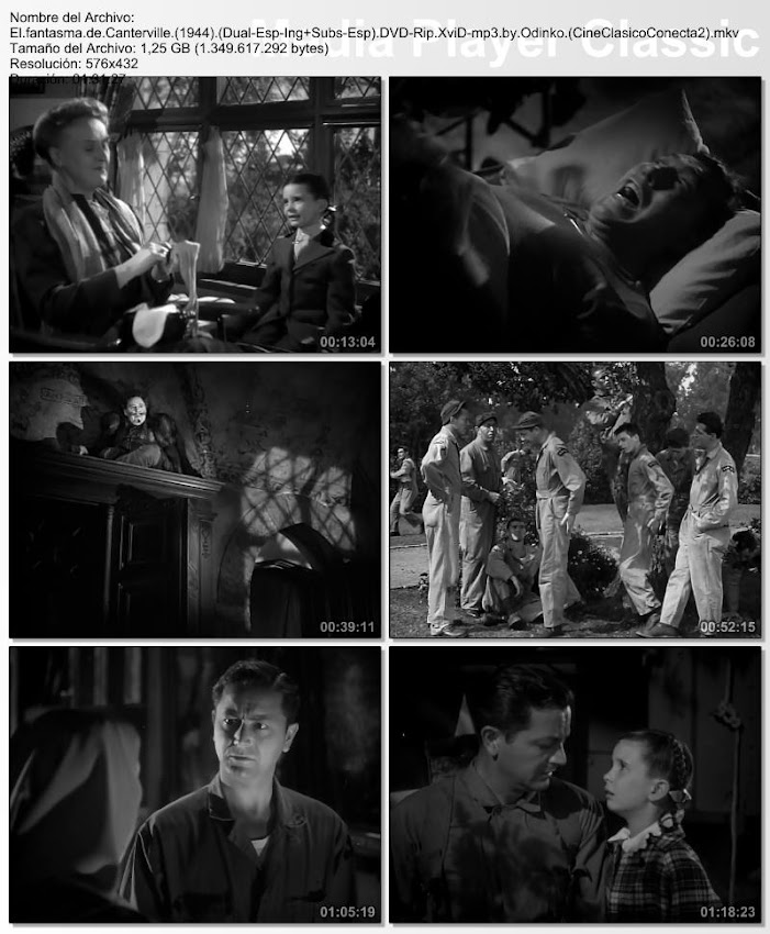 El fantasma de Canterville | 1944 | The Canterville Ghost