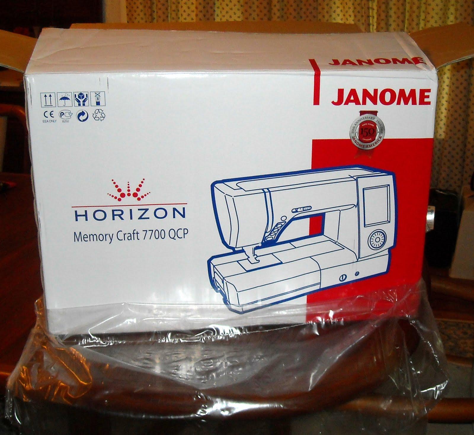 Janome Heritage: Memory Craft 4800 - Janome America: World ...