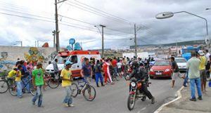 Adolescente morre em queda de bicicleta na BR-116