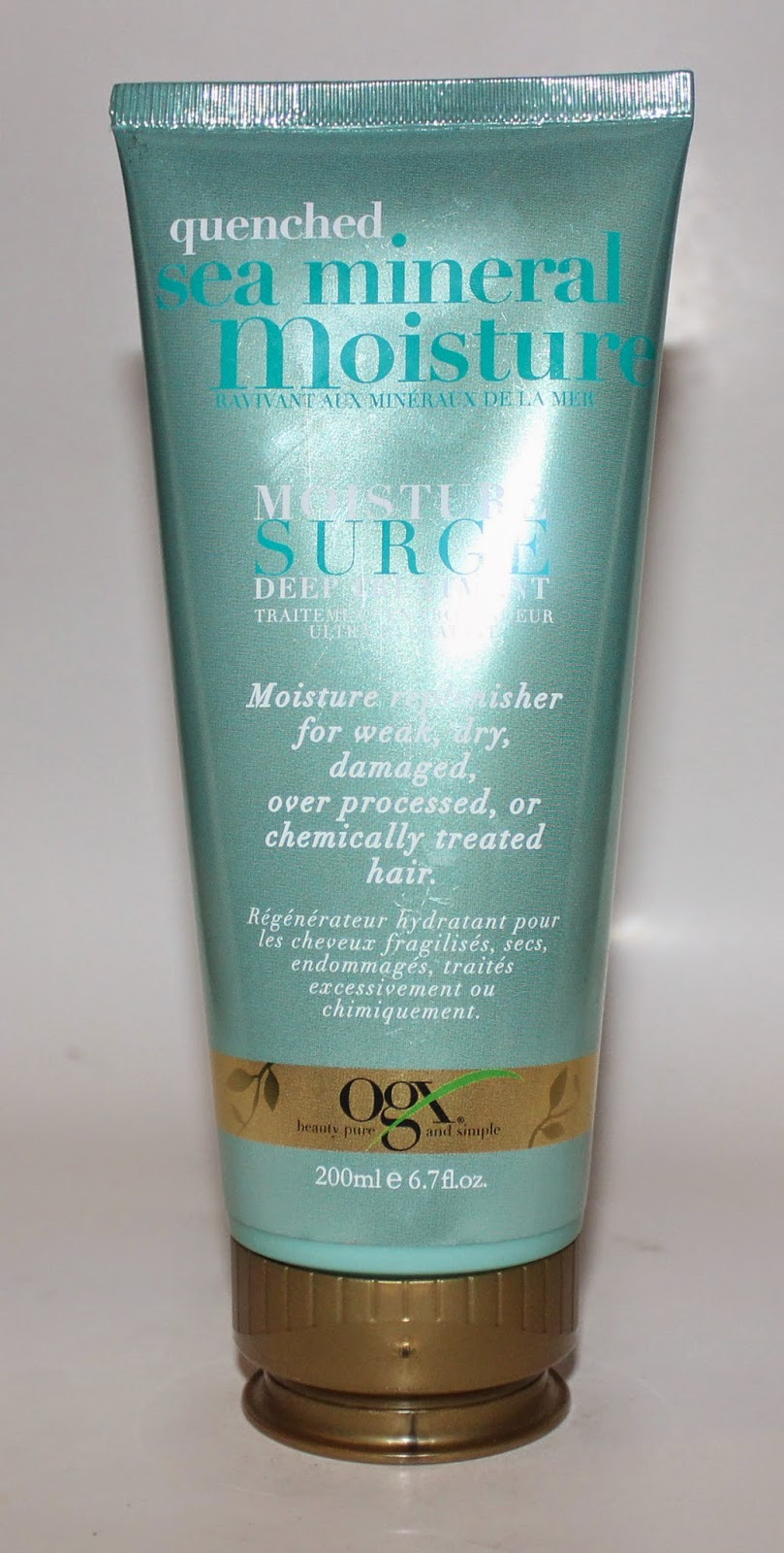 OGX Quenched Sea Mineral Moisture Surge Deep Treatment