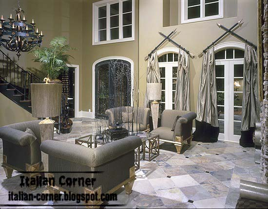 Classic living rooms with italian ideas and furniture for Royal living room designs
