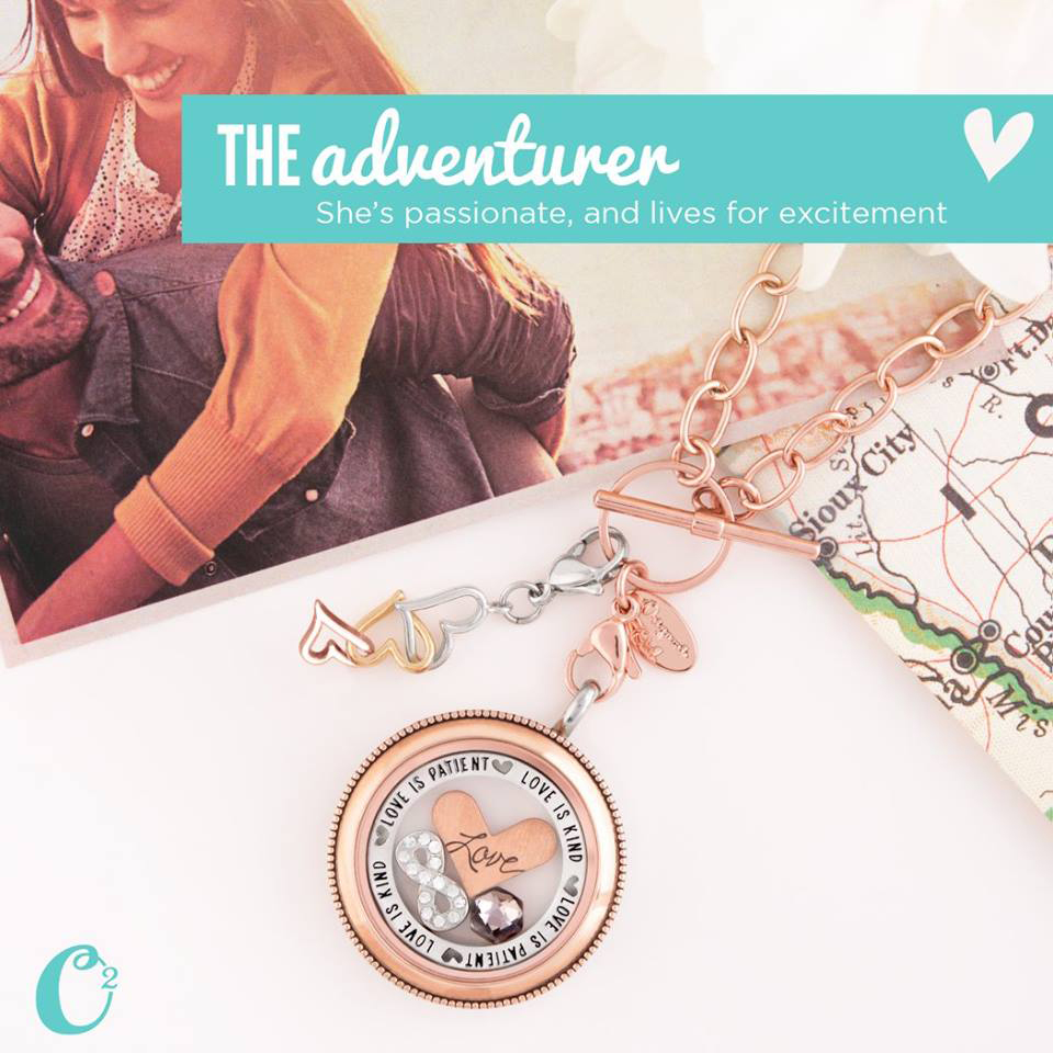 The Adventurer Origami Owl Living Locket | Create your own story in a locket today at StoriedCharms.com
