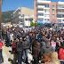 Από τη σημερινή διαδήλωση των μαθητών της Χαλκιδικής...