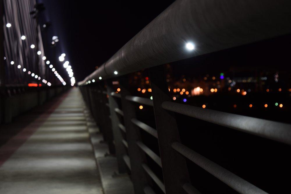 Pogled duž mosta