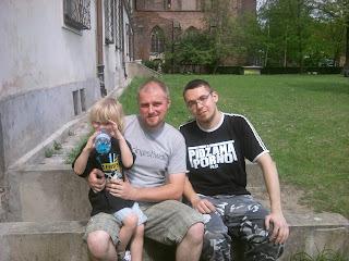 od lewej: Jaś Załęski, Piotr Załęski, ja :)