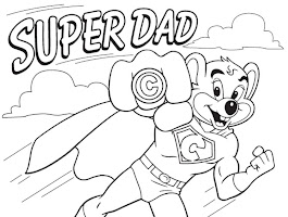Number 1 Dad Coloring Pages