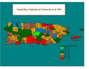 Mapa de provincias de Puerto Rico