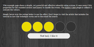 Color Index rating