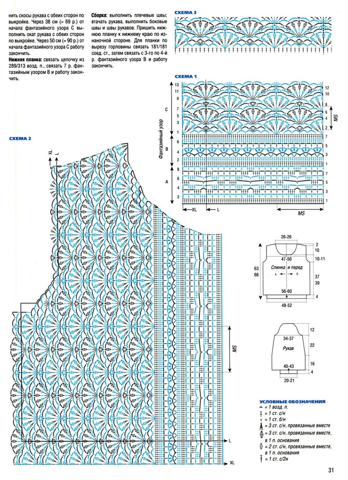 Как обвязать горловину крючком фото и схемы