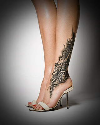 Sexy Leg Tattoo Designs for Women