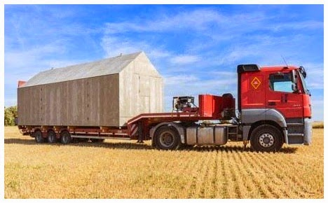 Rumah Portable Mudah dipindahkan