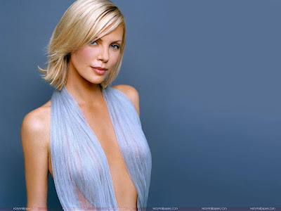 Actress Charlize Theron Wallpaper