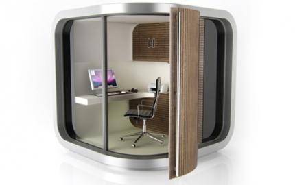 Officepod la oficina m vil en casa ideas para decorar for Oficina portatil