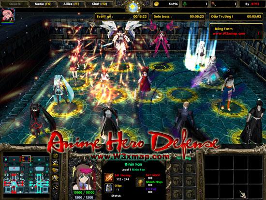 Warcraft 3 Anime Characters : Warcraft maps anime fight ai wroc awski informator
