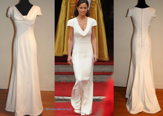 Ask cynthia wedding dress love faviana for Pippa middleton wedding dress buy