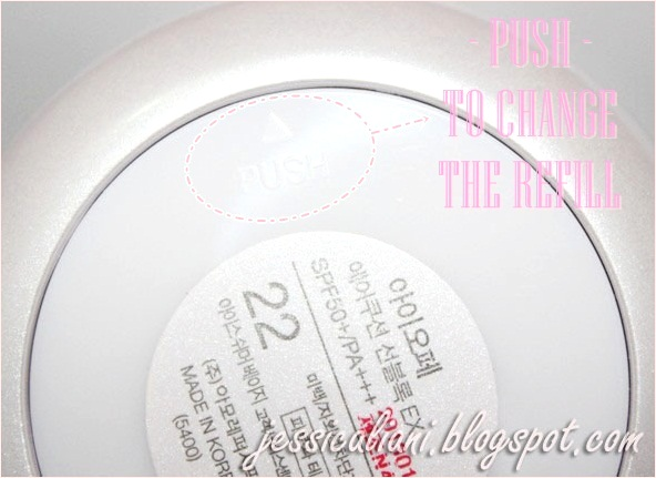 IOPE Air Cushion Sunblock EX refill changes