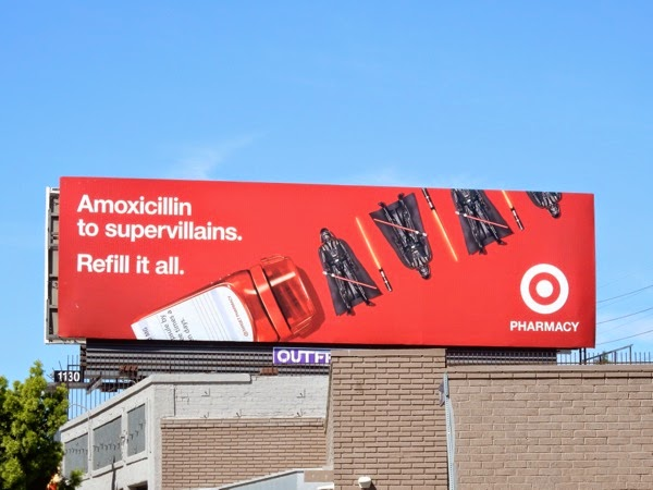 Target Pharmacy Darth Vader billboard