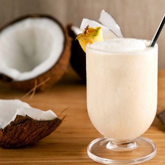 Picture of banana coconut smoothie