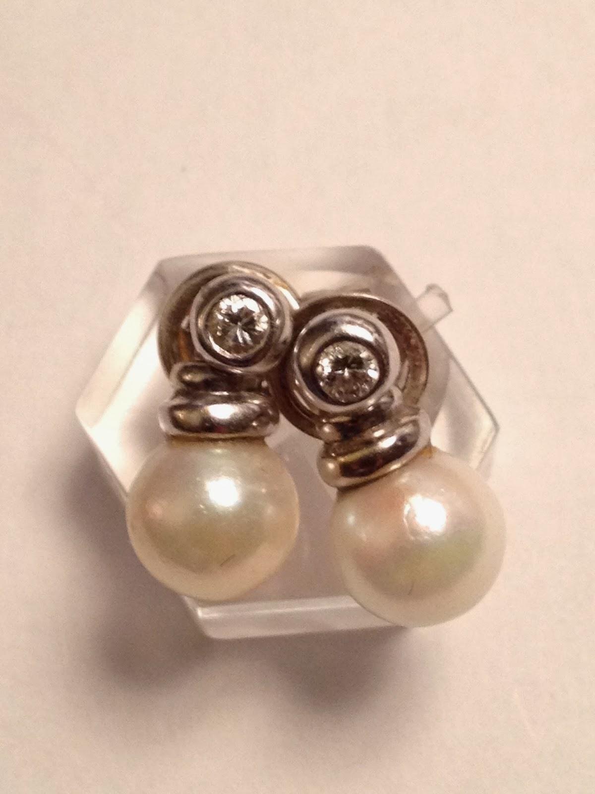 Como limpiar pendientes de oro y perlas