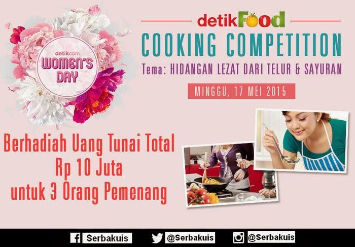 Ikuti Detikfood Cooking Contest Berhadiah Total 10 Juta