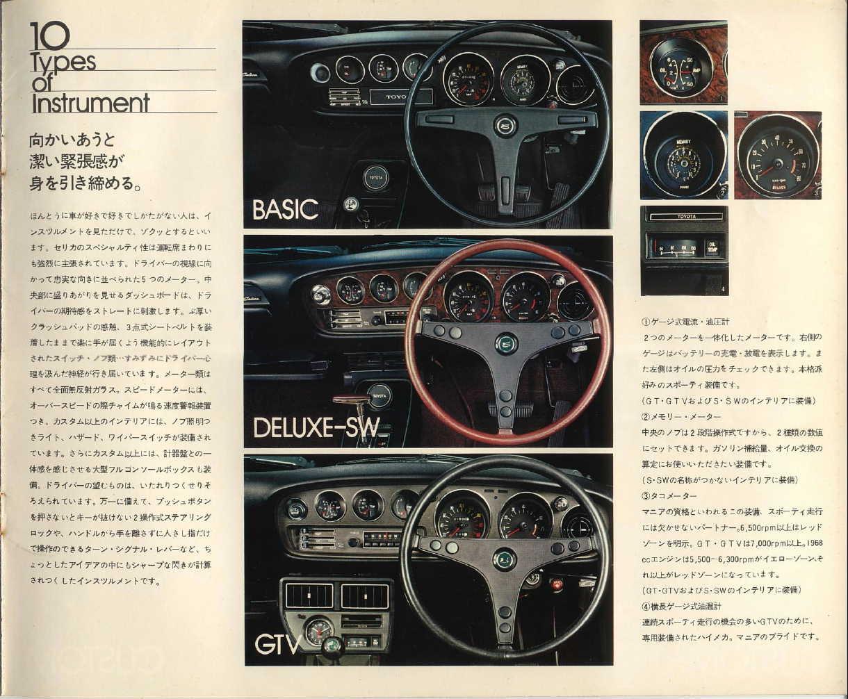 Toyota Celica A20/30, kultowe auto, japoński stary samochód, ciekawy, japońska motoryzacja, old car, klasyczne samochody, JDM, zdjęcia, wnętrze, w środku, interior