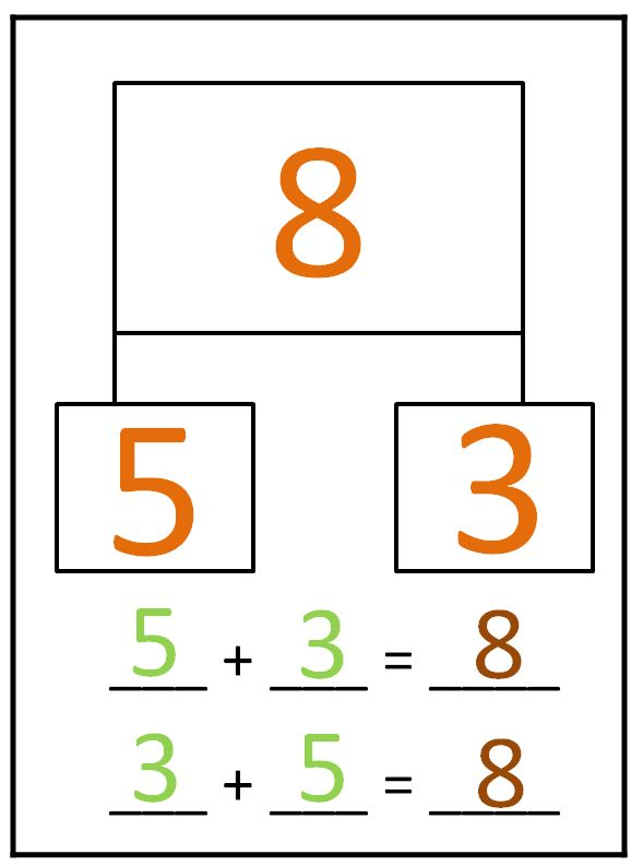 Number Bond Template on blank number bond worksheets
