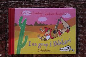 I en grop i Kalahari