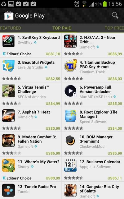 Program Aplikasi Android | Google Play Store
