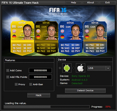 FIFA 16 Ultimate Team Hack Unlimited Coins & FIFA Points Tool [UPDATED]