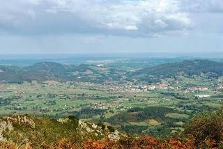 ruta del pico El Paisano a Gallegos,vista Llanera