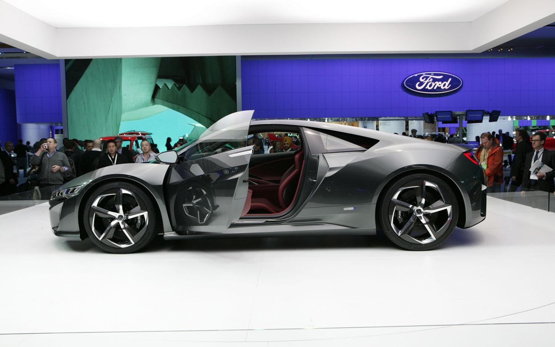 Acura NSX Concept Shows Possible Interior Design – 2013 Detroit