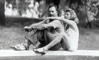 Eernest Hemingway and Martha Gellhorn