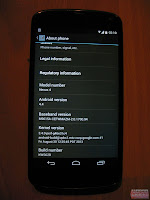 Android 4.4 on Nexus 4