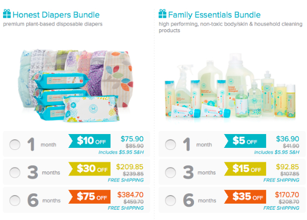Black Friday Subscription Box Deals - Honest Company
