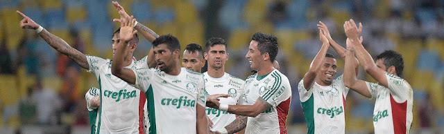 Verdão conseguiu a virada e encerrou sequência de derrotas fora de casa (Foto: Pedro Martins/Agif/Gazeta Press)