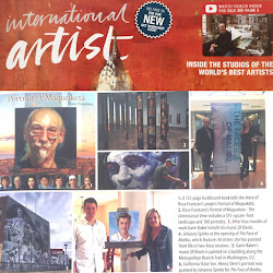 FEATURED IN: INTERNATIONAL ARTIST MAGAZINE, THE PORTRAIT SOCIETY OF AMERICA 'CHAIRMAN'S LETTER'